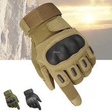 Touch Screen Tactical Gloves Men Breathable Full Finger Gloves Outdoor Sport Camping Hiking Cycling Climbing Gloves esdy esdym 3 outdoor cycling anti slip breathable full finger pu tactical gloves tan m