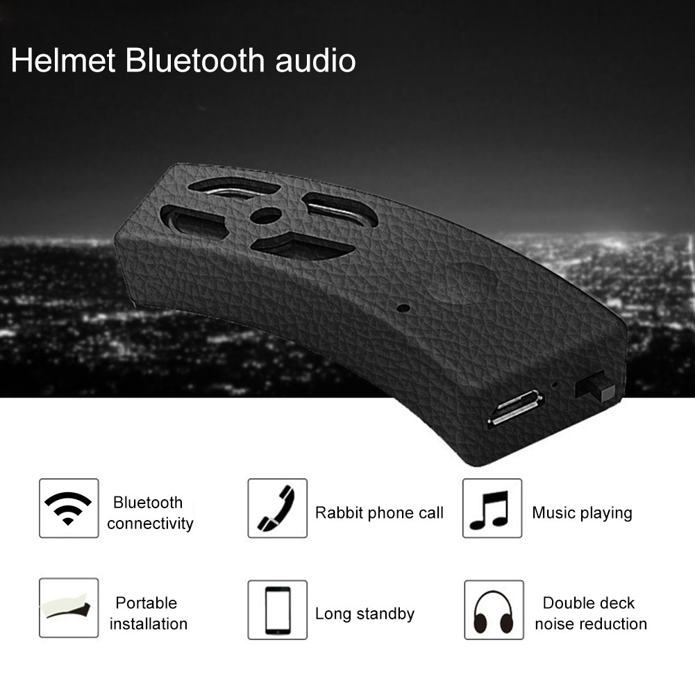 Portable Bicycle MP3 Mini Stereo Subwoofer Motorcycle Accessories Music Helmet Headset Hands Free Audio Bluetooth Speaker