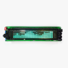 VFD شاشة عرض طيف الموسيقى ، مع شاشة 17 LED بتردد 25 ، مضخم طاقة 12 24 فولت ، مصباح إيقاع H030