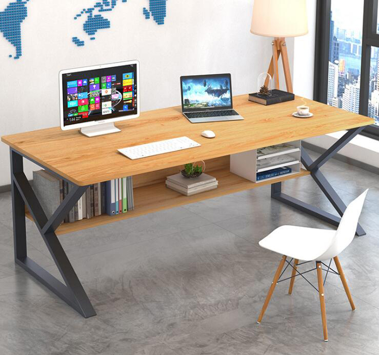 100*60cm Computer Desk Desktop Home Office Modern Bedroom Student Small Desk Study Table Single Combination Desk