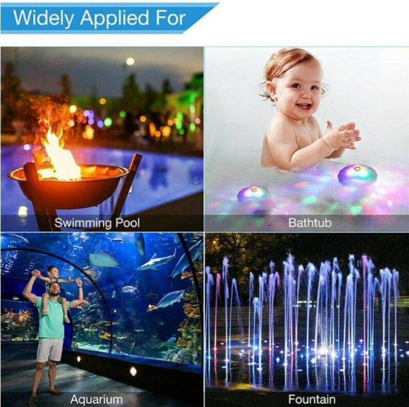 livre luz banheira piscina lâmpada dropship