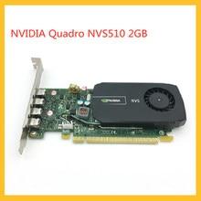 Quadro NVS510 2GB Original Graphics Card Professional Graphics For NVIDIA Multi-screen Design 3D Modeling Rendering Graphics