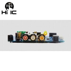 Image 4 - ES9038Q2M ES9038 Q2M I2S DSD optik koaksiyel IIS/DSD DOP % 384KHz giriş dekoder DAC kulaklık çıkışı ses amplifikatörü kurulu