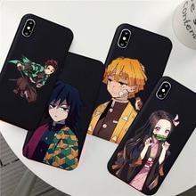 Japan Kamado Nezuko Kimetsu Demon Slayer Soft Phone Case for