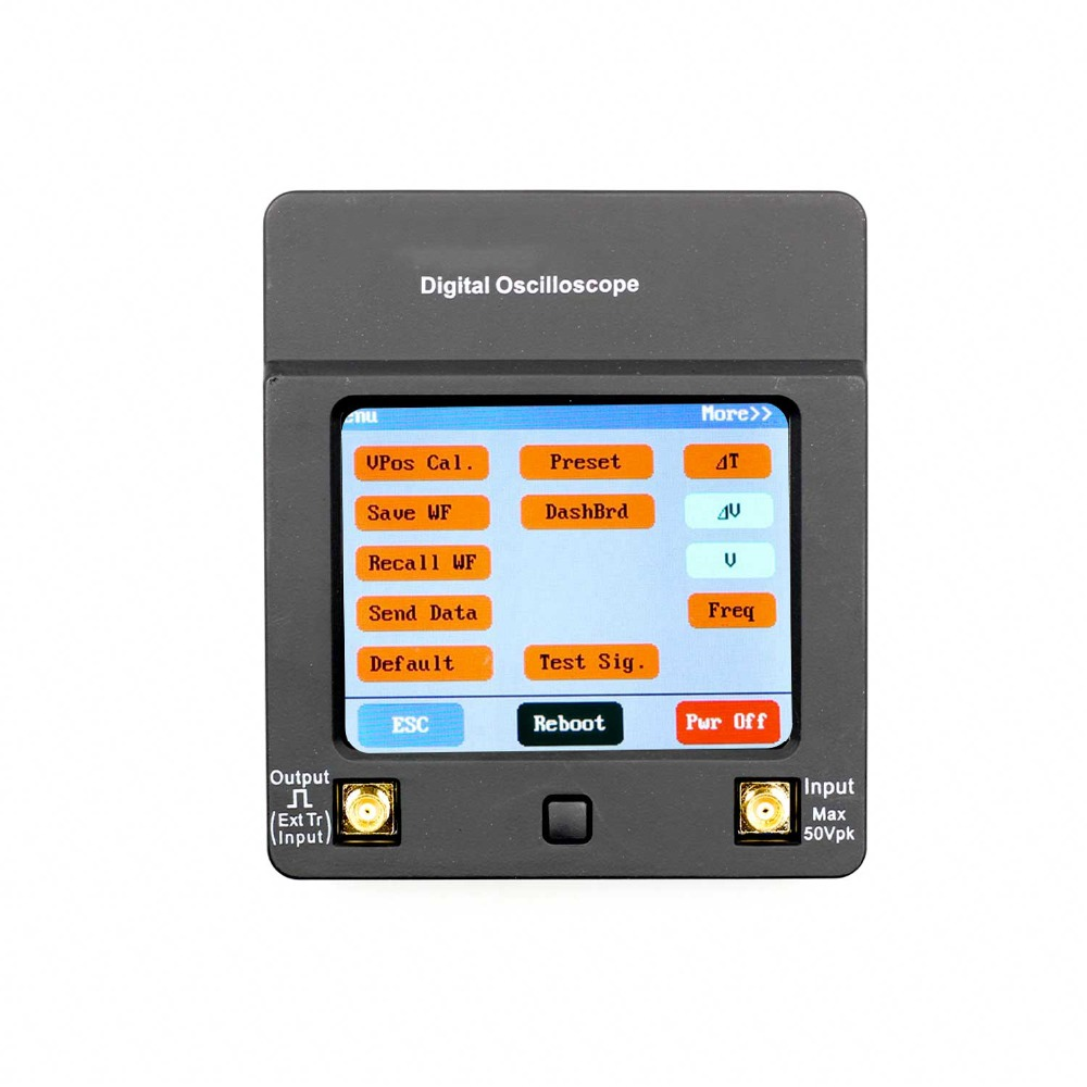 DSO112A Digital Oscilloscope with TFT Touch Screen USB Interface