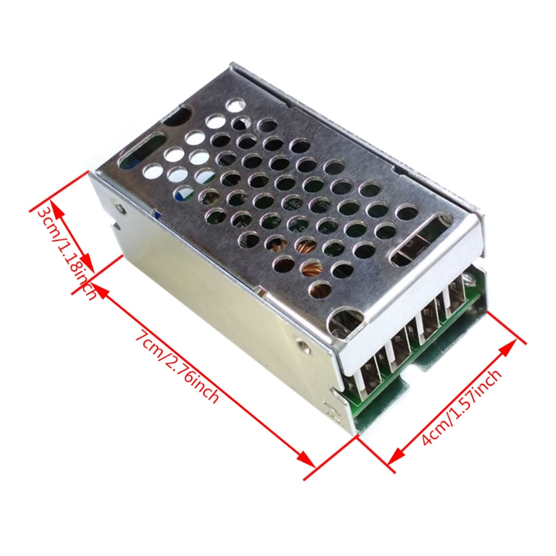 DC-DC Power Supply Module 24V/12V To 5V 5A Converter Replace LM2596S 4XFB