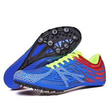 2020 Track and Field Shoes for Men Women Boys Girls Running Training Sneakers Breathable Racing Shoes Cheap Track Shoes Trainers