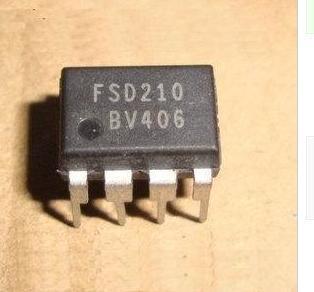 10 шт., FSD210, DIP7 210, новые и оригинальные в наличии