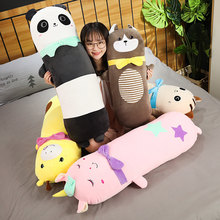 Lovely New 70/100/140cm Panda Plush Toy Stuffed Animals Kids Doll Cute Gifts Toys for Children Girlfriend Husky Cat Deer Unicorn(China)