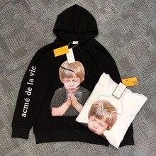 New Korea Brand Acme De La Vie ADLV Hoodies Women Men Stranger Things Pray Boy Sweatshirt Best Quality Hoodie Pullover
