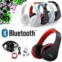 KOOYUTA Bluetooth Headset Wireless Headphone Stereo Foldable Sport Music Earphone with Mic headset for iPhone Samsung Smartphone
