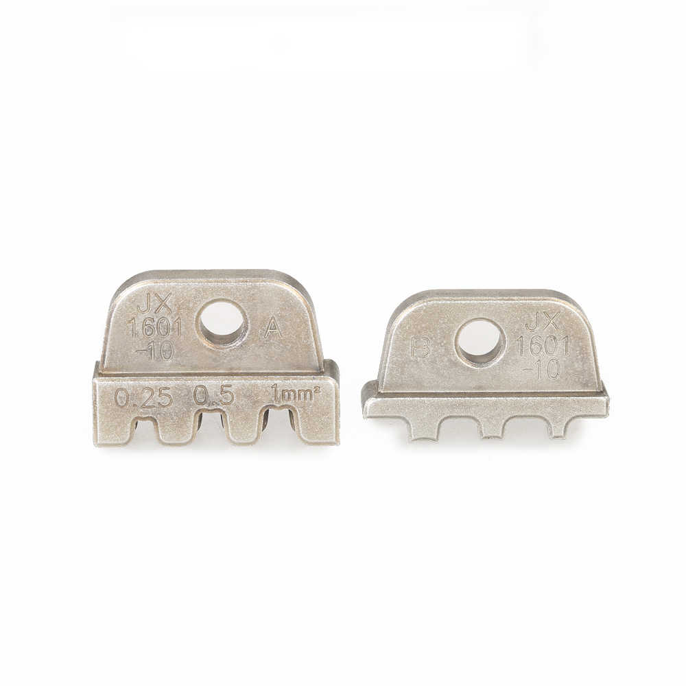 Paron Insulated Terminals 4 Types Mold Wire Crimper Jaw Ferrule Die Crimping