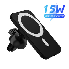 Charger Car-Phone-Holder Apple iPhone Car-Cracket Magnetic 15W for 12 Pro-Max Mini