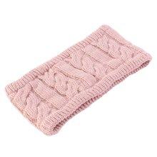 Для женщин зима вязаный повязка на голову с плюшевой подкладкой;