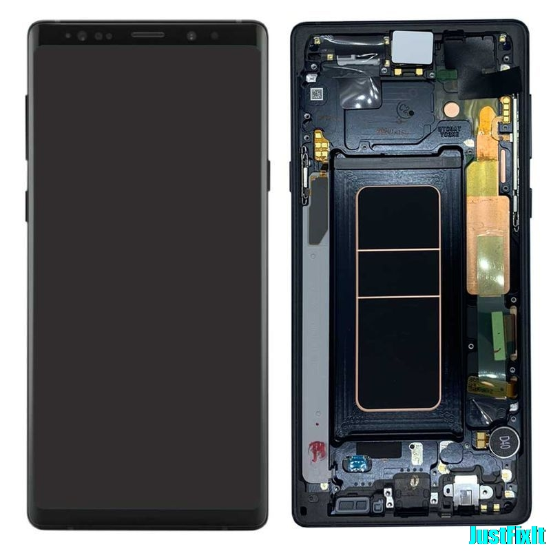 Image 2 - For Samsung Galaxy Note 9 Lcd Display Touch Screen 100% Original Digitizer Assembly N960 N960F N960D N960DS lcd with Frame-in Mobile Phone LCD Screens from Cellphones & Telecommunications
