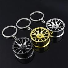 Fit felgi brelok kreatywne części samochodowe brelok samochodowy breloczek do kluczy brelok breloczek akcesoria do wnętrza samochodu breloki tanie tanio CN (pochodzenie) Gumy piankowej WJP0251