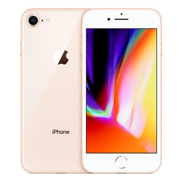 Original Apple iPhone 8 Used 99% New 2GB RAM 64/256GB ROM Wireless Fingerprint LTE iOS Mobile Phone 12MP Hexa-core Cellphone 3
