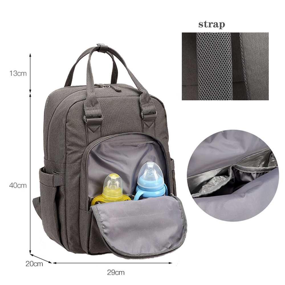 Fashion Maternity Diaper Bag Waterproof High Quality Mummy Multifunction Travel Backpack Large Capacity Baby Nappy Bags for Mom