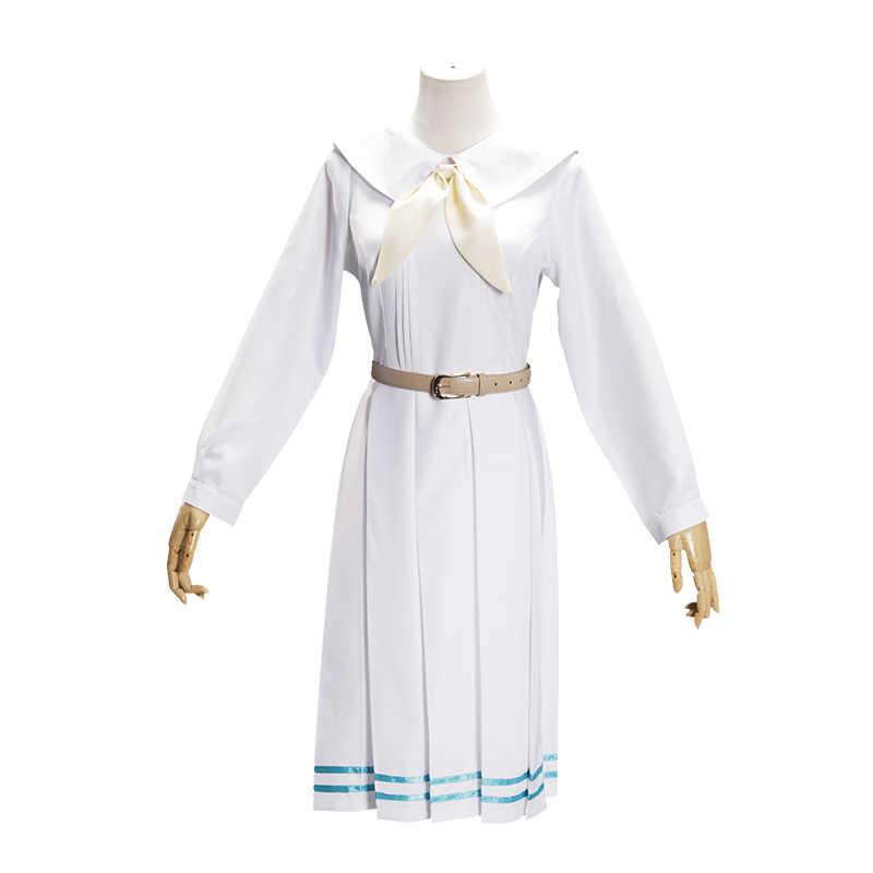 Hot Anime Beastars Haru Costume Lolita Haru Cosplay Pannello Esterno Del Vestito Delle Donne di Scuola Uniforme Bianco Delle Ragazze Del Coniglio Giapponese Uniform Outfit