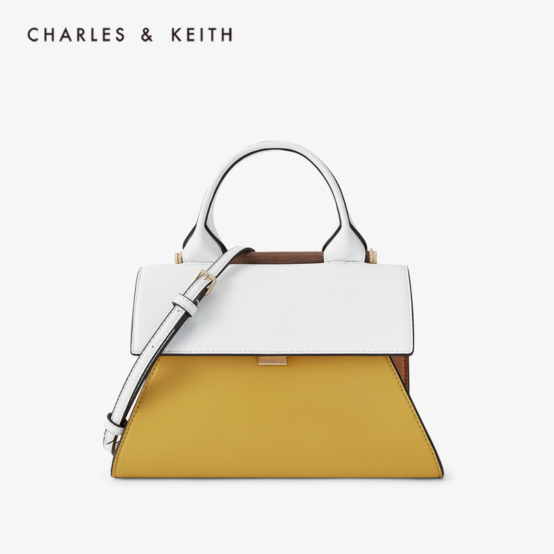 CHARLES&KEITH New Arrival For Spring Summer 2020 CK2-50781234WomenShoudler Bag Fashion Hand  Bag Color Matching