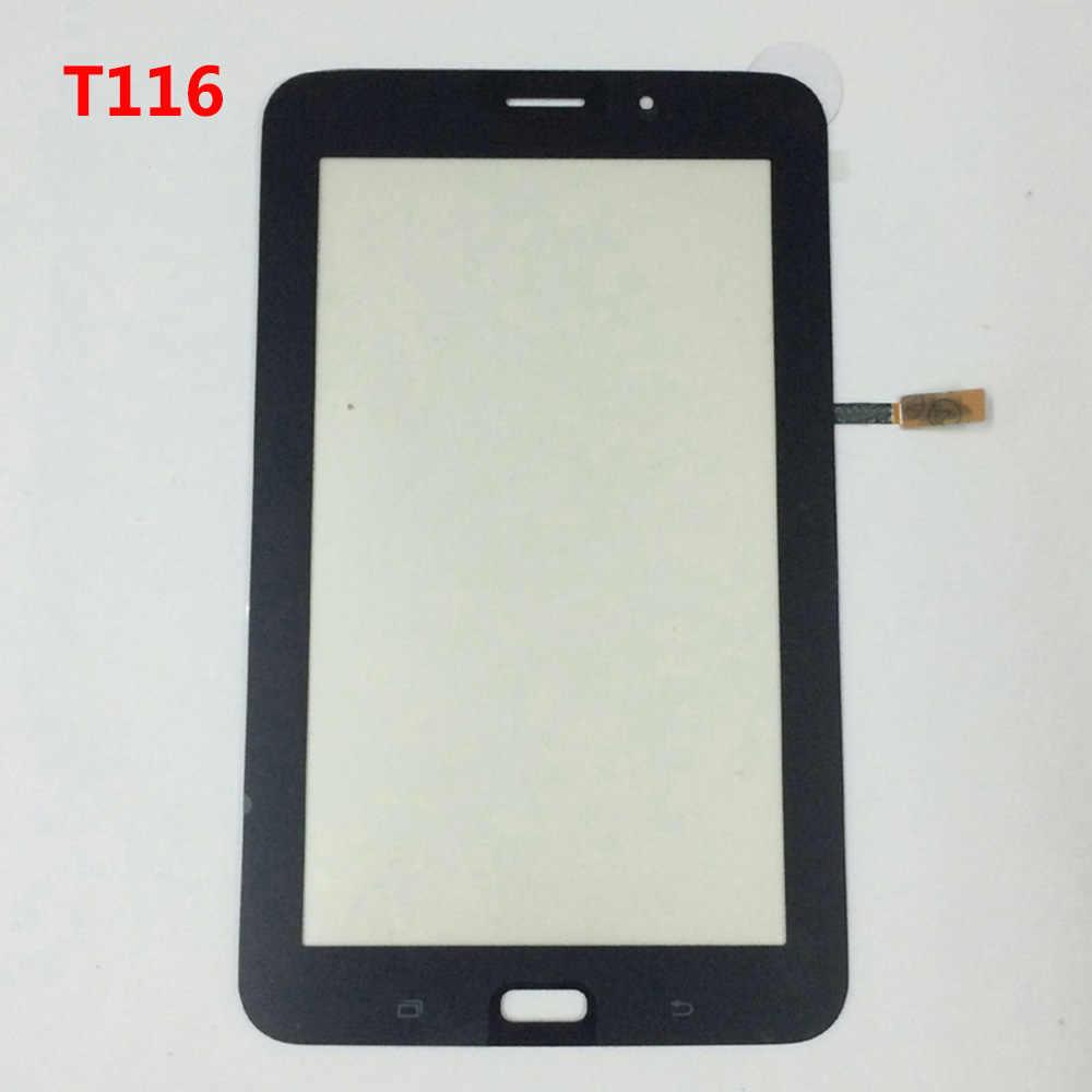 لسامسونج T116 SM-T116 شاشة الكريستال السائل محول الأرقام بشاشة تعمل بلمس قطع غيار سامسونج غالاكسي تبويب 3 لايت 7.0