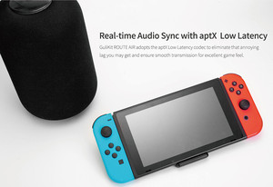 Image 5 - GuliKit NS07 Route Air Bluetooth Wireless Audio Transmitter USB Type C Transceiver Adapter For Nintendo Switch/Switch Lite/PS4