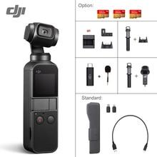 DJI Osmo карман 3-осевая стабилизированная ручной Камера со смартфоном 4K 60fps видео вариант расширения влево/вправо комплект/микро SD карты