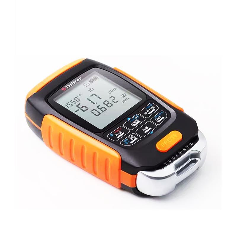 Mini medidor de potencia óptico 4 en 1, localizador de fallos en la red, probador de fibra óptica a prueba de agua con Cable, 5km, 15km, 30 KMVFL