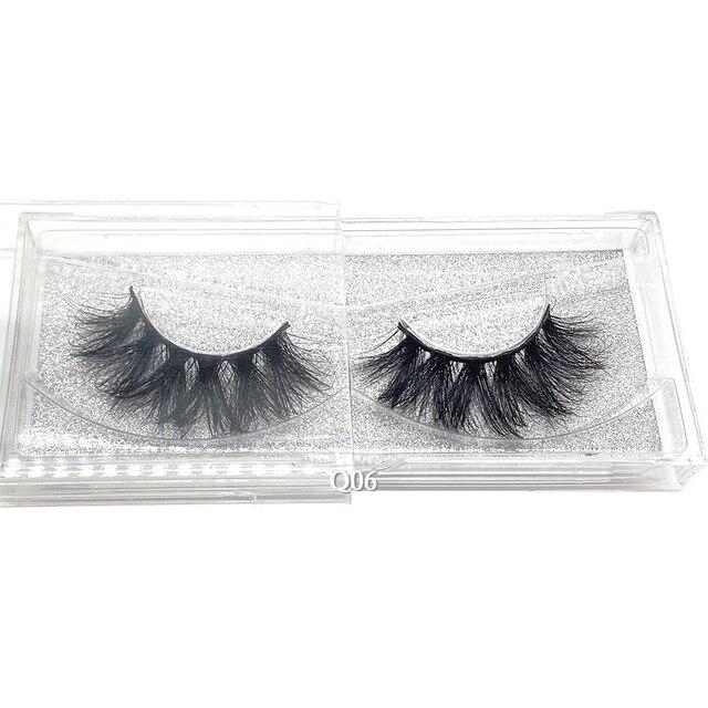 Showerstar 20mm Lashes 6d Eyelashes Extension Sexysheep Fake Makeup Eyelash Natural Fluffy No Cruelty Human Hair Pull Box D22 4