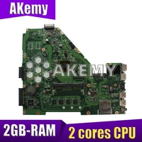 NEW!!! Laptop Motherboard For ASUS X550C X550CC X550CL A550C K550C X550C Y581C X550CA Mianboard W/ E1-2100 2 cores 2GB-RAM