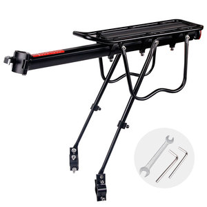 Image 2 - Deemount Bicycle Luggage Carrier Cargo Rear Rack Shelf Cycling Bag Stand Holder Trunk Fit 20 29 Mtb &4.0  Fat Bike