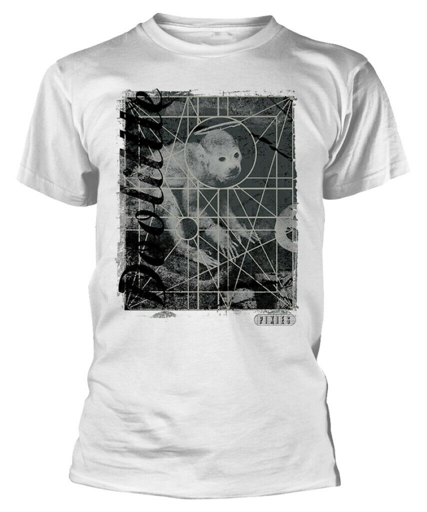 Pixies 'Doolittle' (White) T-Shirt - New & Official!