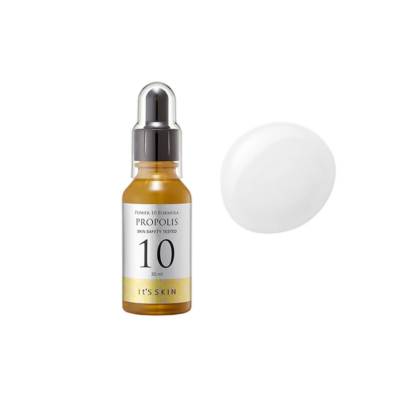 It's Skin Power 10 Formula Propolis 30ml Brightening Essence Whitening Detoxifying And Freckle Removing Anti-oxidant Serum Care