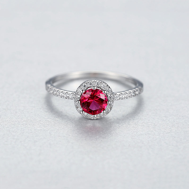 Hd2d3c263beef4a008618f20a9ad254fay Jellystory 925 Sterling Silver Ring Creative Ruby Rings for Female Wedding Party Round Red Gemstone Ring Jewellery Gift size 6-9