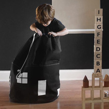 Reusable Kids Toy Storage Bag Children Plush Organizer Drawstring Toys Cartoon