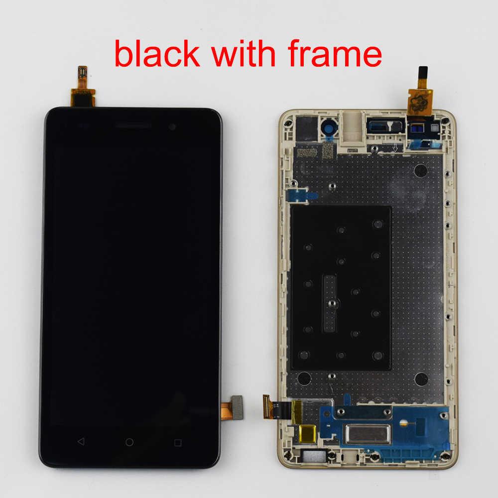 Dla Huawei Honor 4C LCD Diplsy CHM-U01/G grać Mini CHC-U01 CHC-U03 dla Honor 4C LCD montaż digitizera ekranu dotykowego rozmiar 5.0''
