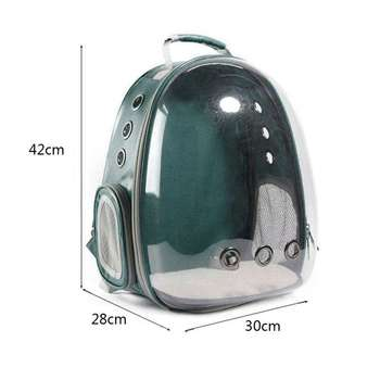 New Portable Pet/Cat/Dog/Puppy Backpack Carrier Bubble, New Space Capsule Design 360 degree Sightseeing Rabbit Rucksack Handbag