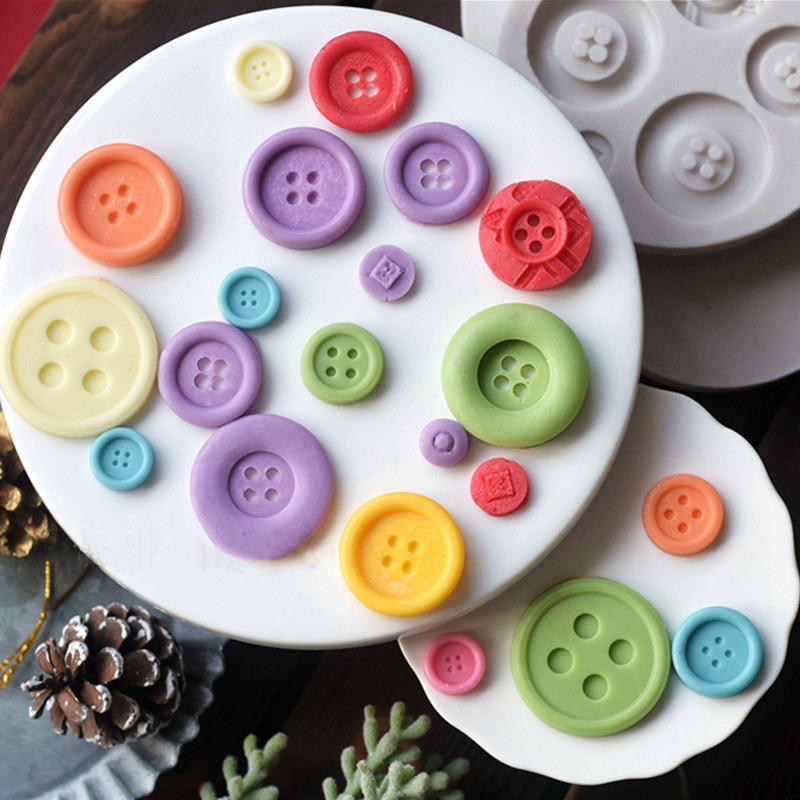 DIY Fondant Cake Decorating Candy Chocolate Cookies Biscuit Moulds Baking Tools~
