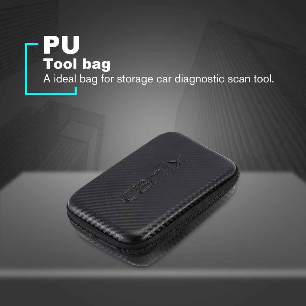 OBDII & EOBD CAN kod okuyucu taşınabilir çanta tarayıcı OBDII saklama çantası araba dedektörü çanta araba teşhis tarama aracı çantası