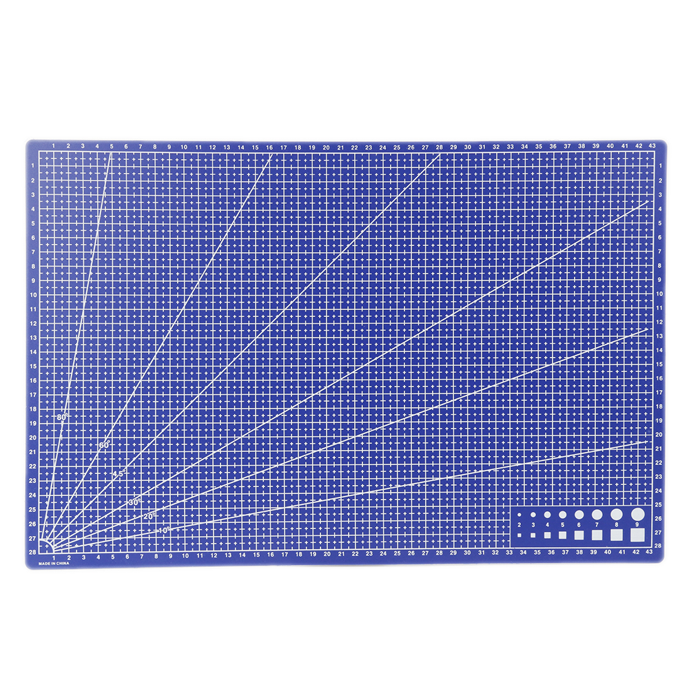 A3 Pvc Cutting Mat A3 Rectangular A3 Cutting Mat Grid Line Tool Plastic 45cm * 30cm Cutting Mat