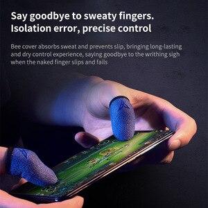 Image 2 - ProfessionalสำหรับPUBGเกมโทรศัพท์โทรศัพท์เกมสเตอริโอแขนถุงมือThumbsฝาครอบTouchscreenแขน