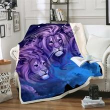 Kids Anime Lion King Simba 3D Blanket Fleece Cartoon Bendy Print Children Warm Bed Throw Blanket newborn bayby Blanket style 010