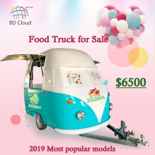 Китайская Фабрика Поставщик пищевой тележки мобильный мороженое пищевой прицеп