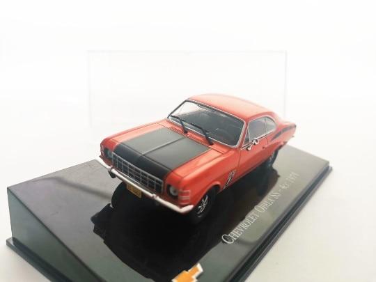 Ixo 143 1975 chevrolet opala SS-4cc liga de metal diecast carros modelo veículos brinquedo para crianças menino brinquedos presente