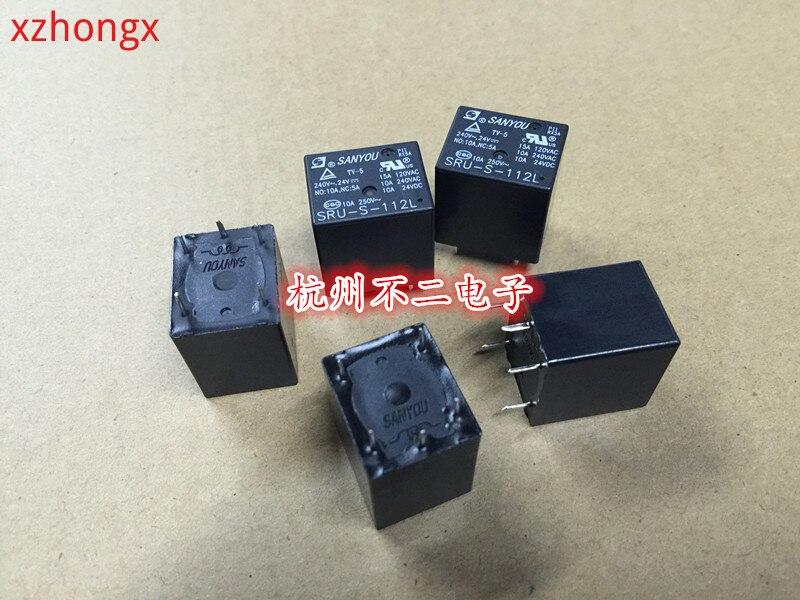 2 шт. SRU-S-112L реле 5 сосны 10A250VAC 0,36 W 22F