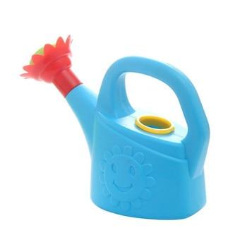 Home Sprinkler Spray Garden Plastic Beach Cute Cartoon Flowers Kids Watering Can Bottle Bath Toy Early Education Watering Toy 4