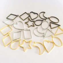 10 шт разнообразные металлические геометрические рамки полый