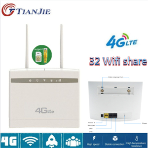 TIANJIE 4G/LTE CPE Router Unlo