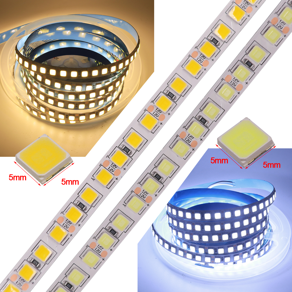 5M LED Strip Light SMD5054 600LEDs DC 12V 24V Flexible LED Tape Waterproof LED Ribbon LED Light Strip For Home Decoration