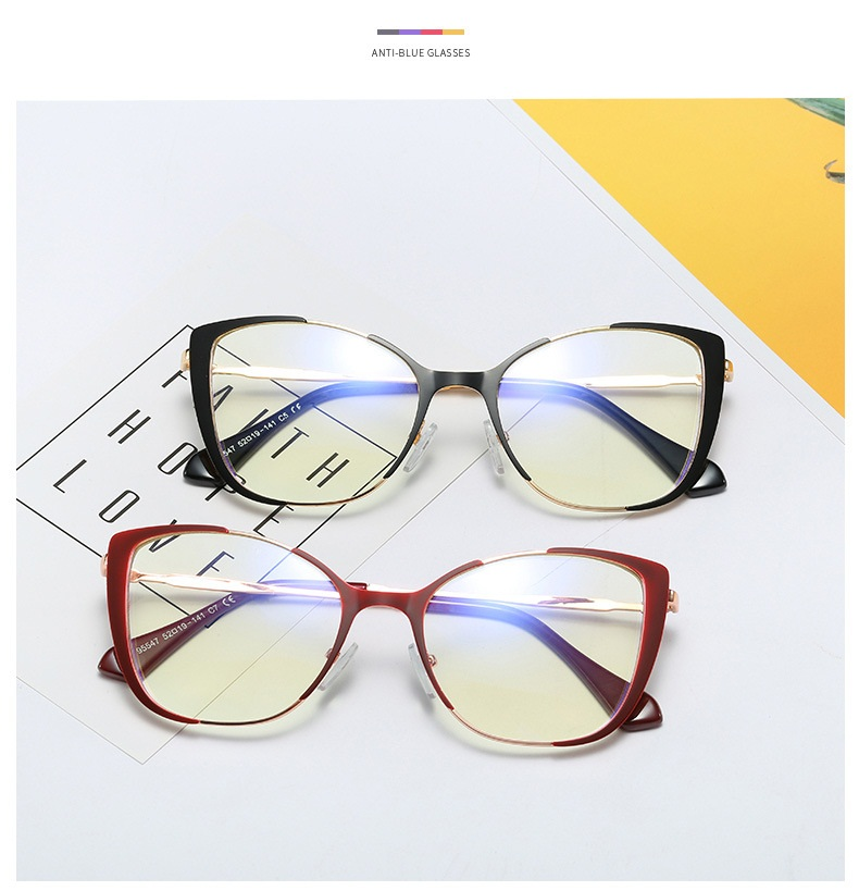 Lonsy винтажные Брендовые очки для чтения «кошачий глаз» оправа